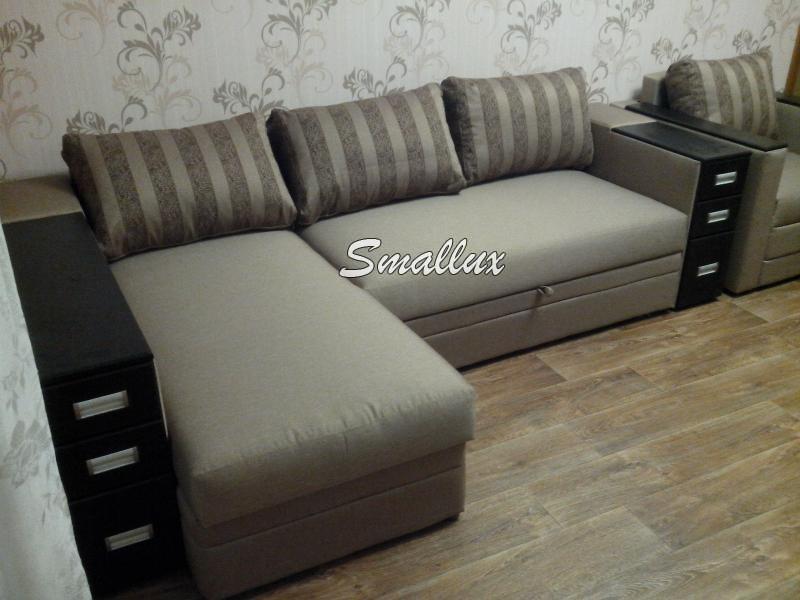 Угловой диван - кровать Атлантик (с выездными шухлядами 3 шт.)