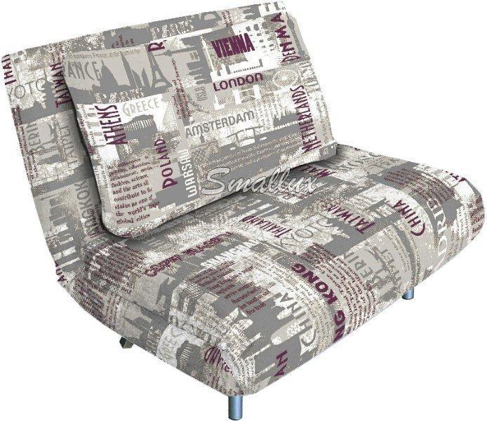 Кресло - кровать Флирт Город грей