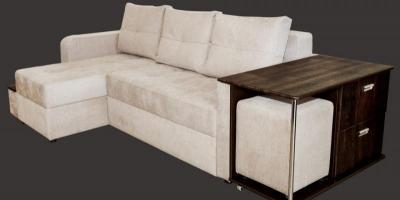Угловой диван - кровать Рино