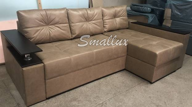 Угловой диван Бристоль 2,4 (Бар, c прошивкой)