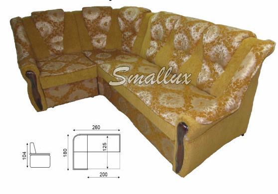 Угловой диван - кровать Омега