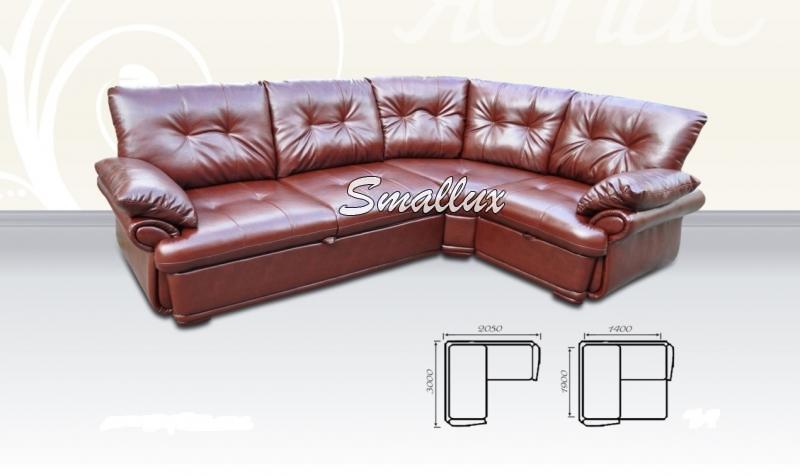 Угловой диван - кровать Альберто